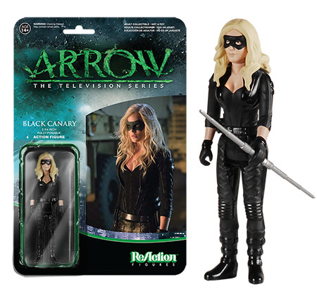 Black Canary Funko ReAction figure