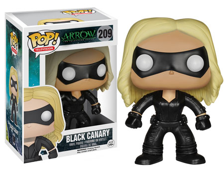 Black Canary Pop! vinyl figure.