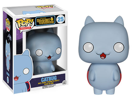 Bravest Warriors Catbug vinyl figure.