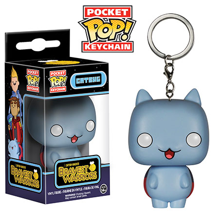 Catbug Pocket Pop Keychain.