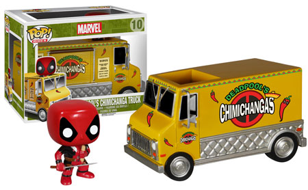 Pop! Ride: Deadpool's Chimichanga Truck