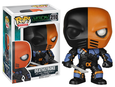Deathstroke Pop! vinyl figure.