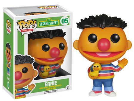 Pop! Funko Ernie vinyl figure.