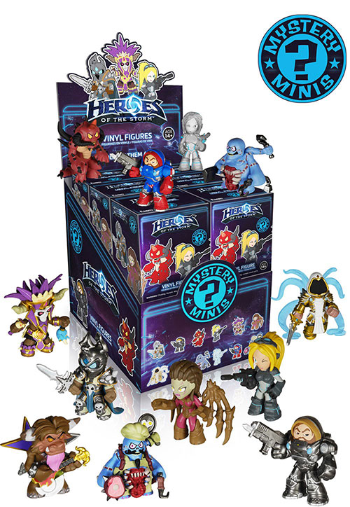 Blizzard Heroes of the Storm Mystery Minis Funko