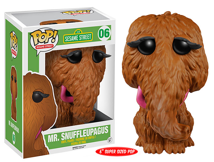Pop! Funko Mr. Snuffleupagus vinyl figure.