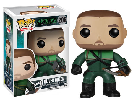 Oliver Queen Arrow Pop! vinyl figure.