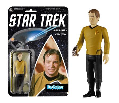 Star Trek ReAction figure Captain Kirk