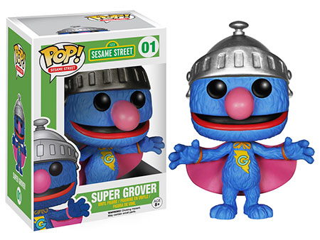 Sesame Street Pop! Super Grover.