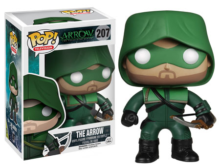 The Arrow Pop! vinyl figure.