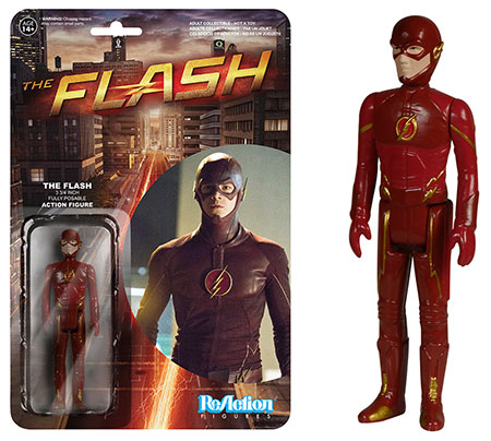 The Flash Funko ReAction figure.