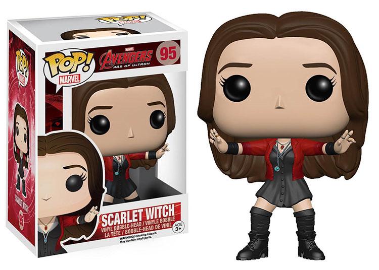 Scarlet Witch Pop! vinyl figure Funko, avengers age of ultron.