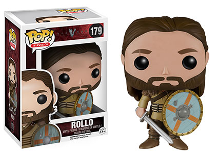 Vikings Rollo Pop! vinyl figure.