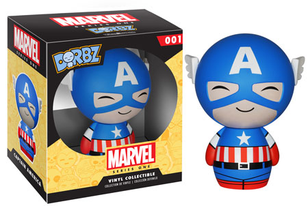 Captain America Dorbz by Vinyl Sugar