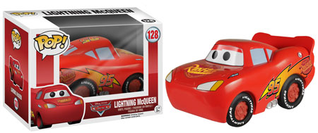 Funko Pop! Cars Lightning McQueen figure.