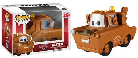 Funko Pop Cars Mater
