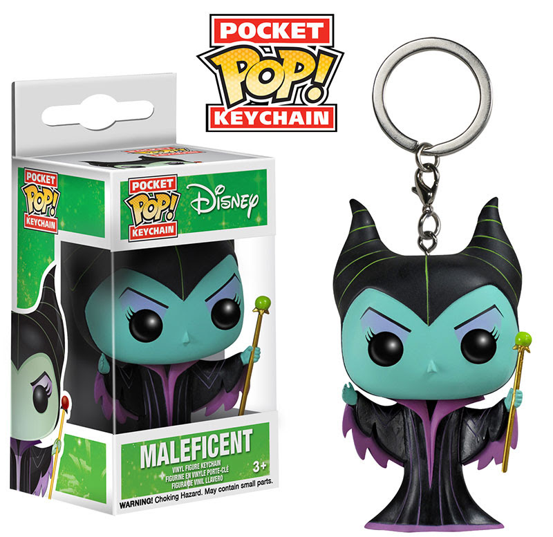 Disney Maleficent Funko Pocket Pop Keychain