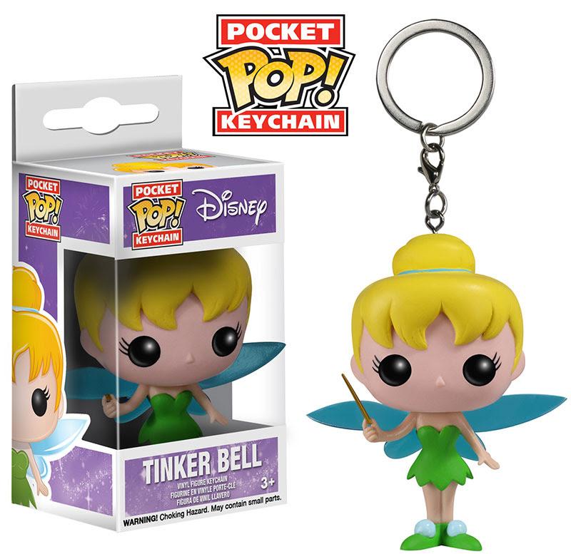 Disney Tinker Bell Funko Pocket Pop Keychain