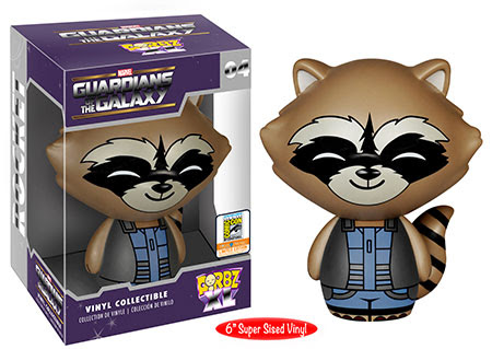 Dorbz XL- Guardians of the Galaxy - 6 inch Rocket SDCC Exclusive