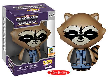 Dorbz XL Guardians of the Galaxy  6inch Nova Suit Rocket Raccoon