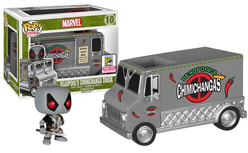 Funko Pop Rides X Force Deadpool's Chimichanga Truck