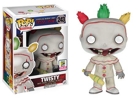 Funko Pop TV American Horror Story  Freak Show  Twisty Unmasked