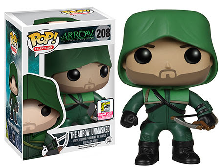 Funko Pop TV Arrow The Arrow Unmasked