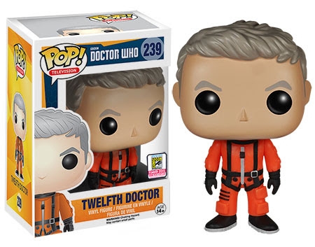 Funko Pop Television Doctor Who Twelfth Doctor Spacesuit vinyl figure