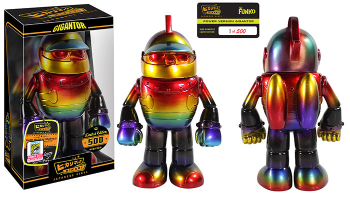 Hikari- Gigantor - Power Gigantor SDCC Exclusive