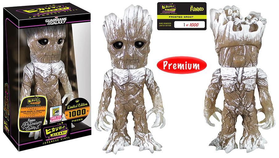Hikari Marvel - Frosted Groot figure.