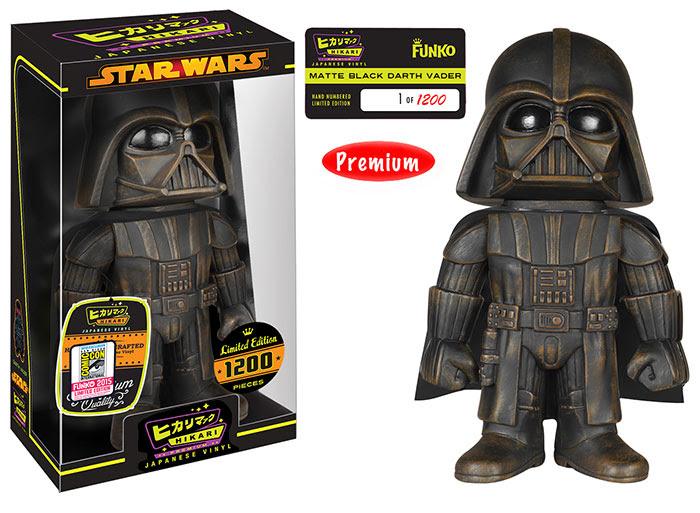 Hikari Star Wars Darth Vader, Matte Black figure.