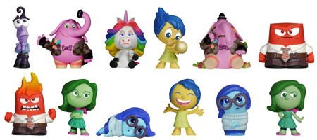 Inside Out Mystery Minis By Funko