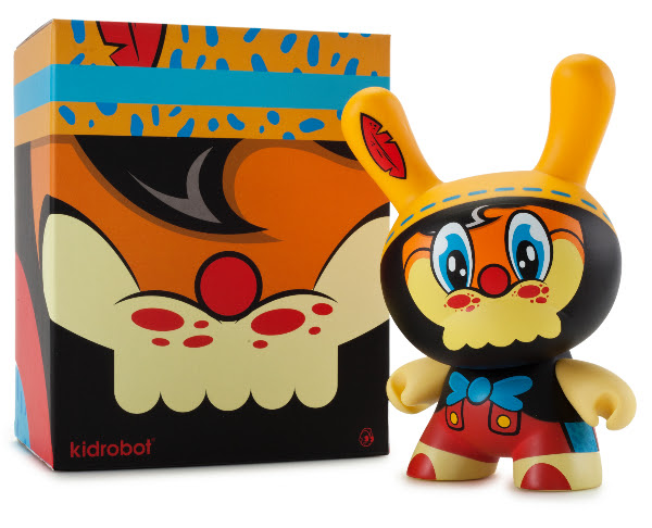 No String on Me 8 inch Dunny Wuzone, Kidrobot