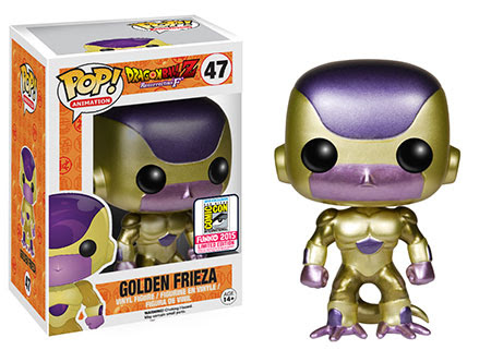 Funko Pop! Animation- Dragon Ball Z - Golden Frieza SDCC Exclusive