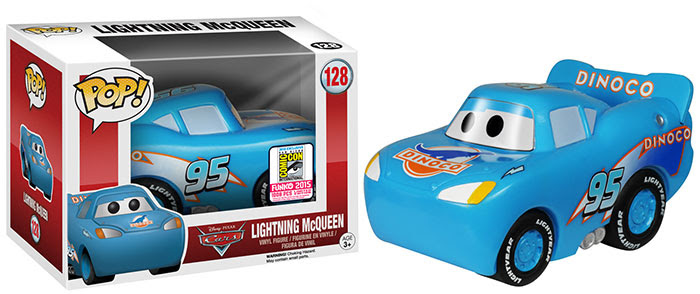 Pop! Disney- Cars - Dinoco McQueen SDCC Exclusive