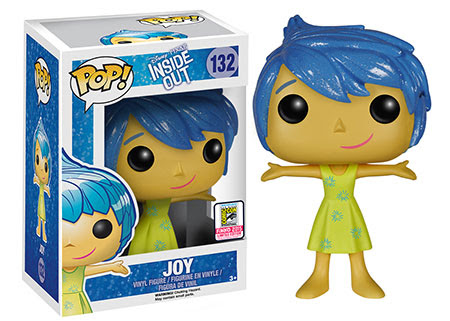 Pop Disney/Pixar - Inside Out , Sparkle Hair Joy