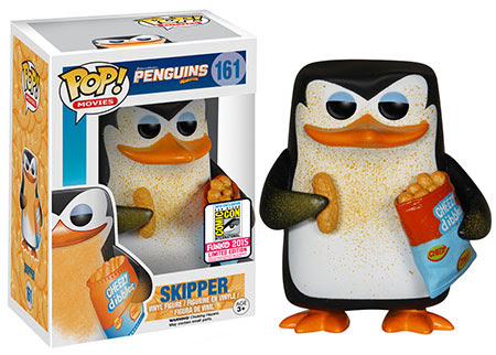 Pop Movies Penguins of Madagascar Cheesy Skipper Funko vinyl figure