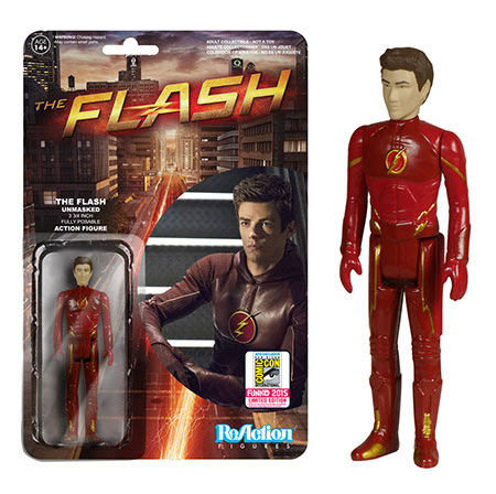ReAction- The Flash - The Flash Unmasked SDCC Exclusive
