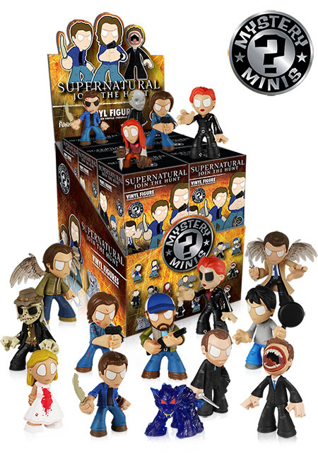Supernatural Mystery Minis by Funko.