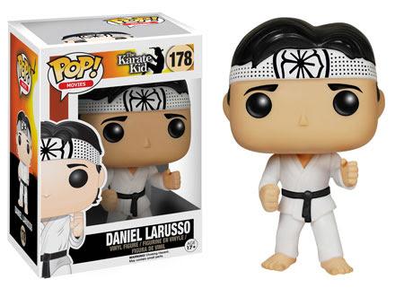 The Karate Kid Daniel Larusso Funko Pop vinyl figure.