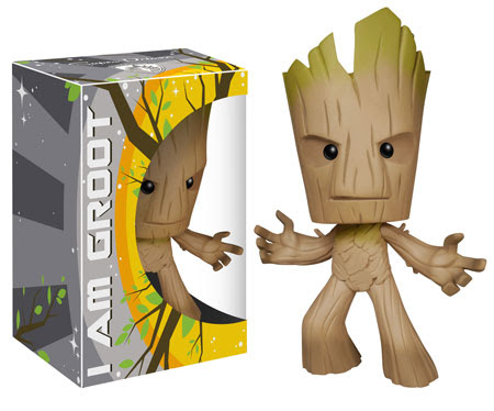 Vinyl Sugar Groot, Guardians of the Galaxy Super Deluxe figure.