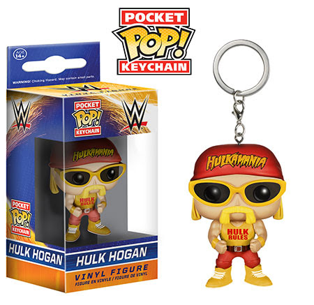 Funko Pocket Pop Keychain WWE Hulk Hogan vinyl figure