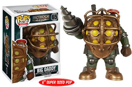 Funko Pop! Bioshock Big Daddy vinyl figure.