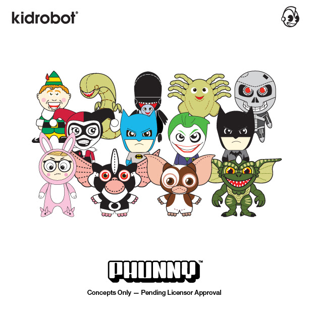 kidrobot phunny toyline