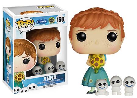 Funko Pop Disney Frozen Fever Anna vinyl figure