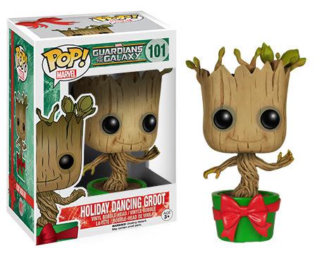 Pop Marvel Holiday Dancing Groot