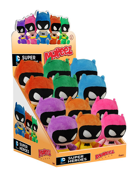 These look awesome as a set. Don't look so sad Batman! You're awfully cute.