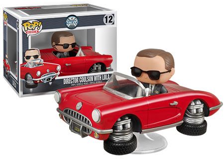 Pop Heroes Agent Coulson with Lola
