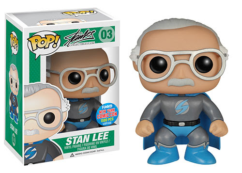 Funko's New York Comic Con Exclusive Figures – Wave 4 Stan Lee