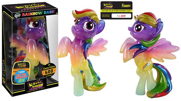 Hikari- My Little Pony - Glitter Color Storm Rainbow Dash