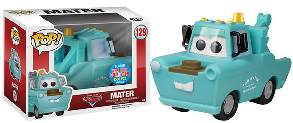 Pop Disney Cars Mint Condition Mater